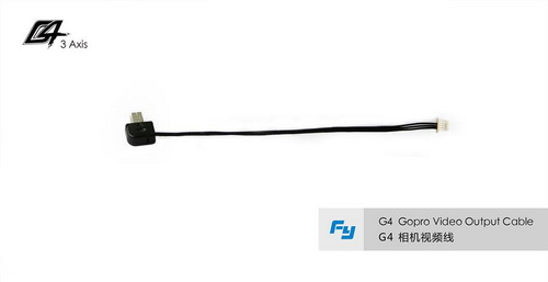 G4 GoPro Video Output Cable500