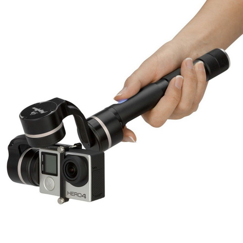 Feiyu Tech G4 3-Axis Handheld Steady Gimbal GoPro Stabilizer.