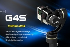 Coming Soon! Feiyu Tech G4S 3-Axis Handheld Gimbal