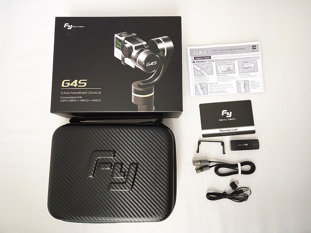 Packing Feiyu Tech G4S 3-Axis handheld gimbal (1)