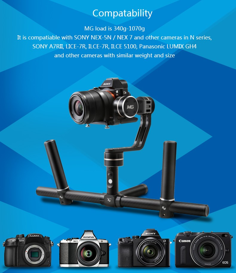 Feiyu Tech FY-MG 3-Axis Handheld Gimbal For Mirrorless Cameras (18)