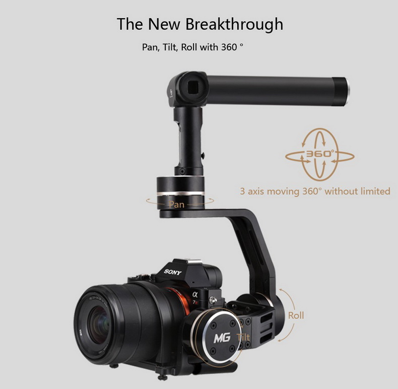 Feiyu Tech FY-MG 3-Axis Handheld Gimbal For Mirrorless Cameras (20)