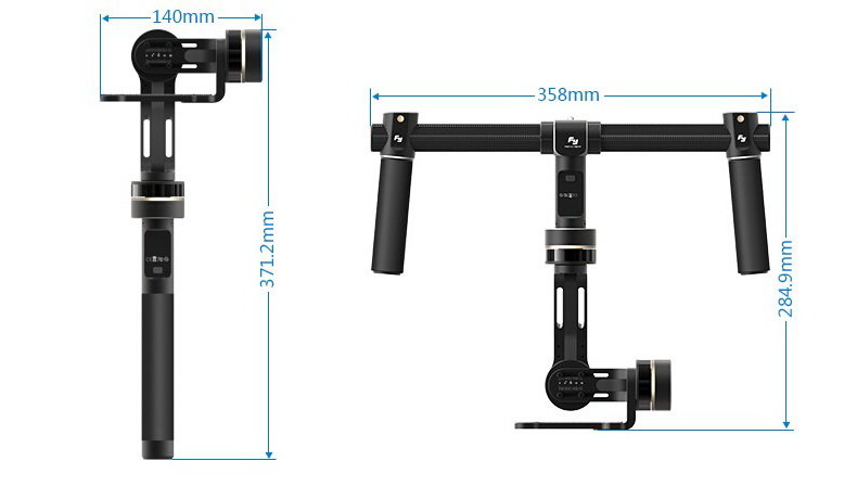 Feiyu Tech FY-MG 3-Axis Handheld Gimbal For Mirrorless Cameras (30)