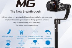 NEW! Feiyu Tech MG 3-Axis Handheld Gimbal for Mirrorless Camera