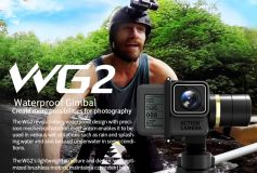 Feiyu Tech WG2 3-Axis Wearable WaterProof Gimbal for GoPro HERO5/4, GoPro5/4 Session & Action Camera