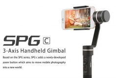 FeiyuTech SPG c 3-Axis Handheld Gimbal with Zoom Button for iPhone & SmartPhone
