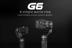 Feiyu Tech G6 3-Axis Handheld Gimbal Stabilizer for GoPro HERO 6, 5, SONY RX0 Action Camera