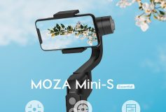 MOZA Mini-S Essential (Mini-SE) 3-Axis Foldable Gimbal Stabilizer for SmartPhone