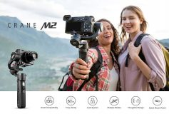Zhiyun CRANE M2 All-in-One Gimbal for Mirrorless Camera, Pocket Camera, GoPro, SmartPhone