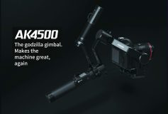 FeiyuTech AK4500 3-Axis Stabilized Handheld Gimbal for DSLR Cameras