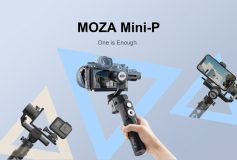 MOZA Mini-P All-in-One Gimbal for Mirrorless Camera, Pocket Camera, GoPro, SmartPhone